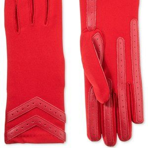 Women's Isotoner 3M Thinsulate Red Gloves